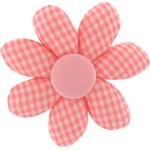 Barrette fleur marguerite vichy peps - PPMC