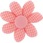 Fabrics flower hair clip vichy peps - PPMC