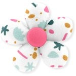 Mini flower hair slide sea side - PPMC
