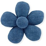 Mini flower hair slide light denim - PPMC