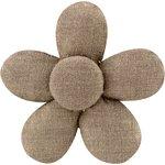 Petite barrette mini-fleur lin or - PPMC