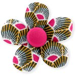 Petite barrette mini-fleur palmette - PPMC