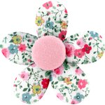 Pasador mini flor rosario - PPMC