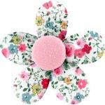Petite barrette mini-fleur  roseraie - PPMC