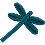 Barrette libellule bleu vert - PPMC