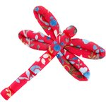Dragonfly hair slide cherry cornflower - PPMC