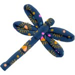 Dragonfly hair slide glittering heart - PPMC