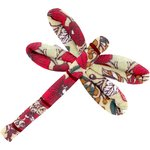 Dragonfly hair slide poppy - PPMC