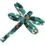 Dragonfly hair slide jade panther - PPMC