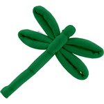 Dragonfly hair slide bright green - PPMC