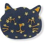 Passador maullido estrella de oro azul marino - PPMC
