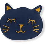 Meow hair slide navy blue - PPMC