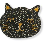 Meow hair slide noir pailleté - PPMC