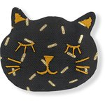 Meow hair slide golden straw - PPMC