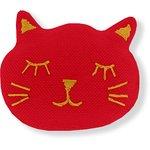 Meow hair slide tangerine red - PPMC