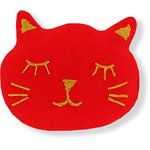 Meow hair slide tangerine red - PPMC