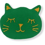 Meow hair slide bright green - PPMC