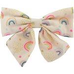 Pasador lazo mariposa arco iris - PPMC