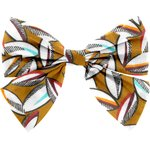 Bow tie hair slide cocoa pods - PPMC
