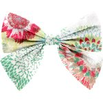 Bow tie hair slide powdered  dahlia - PPMC
