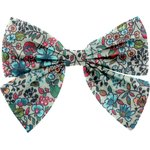 Bow tie hair slide flower mentholated - PPMC