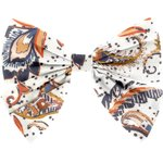 Bow tie hair slide kashmir - PPMC