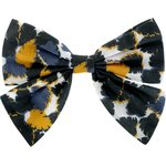 Bow tie hair slide  melting plum' - PPMC