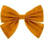 Bow tie hair slide ochre - PPMC