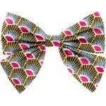 Bow tie hair slide palmette - PPMC