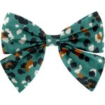 Bow tie hair slide jade panther - PPMC