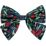 Barrette noeud papillon  tulipes - PPMC