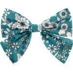 Bow tie hair slide celadon violette - PPMC