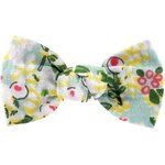Small bow hair slide menthol berry - PPMC