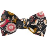 Small bow hair slide ochre bird - PPMC