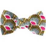 Small bow hair slide palmette - PPMC