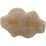Cloud hair-clips copper linen - PPMC