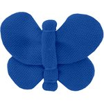 Butterfly hair clip navy blue - PPMC