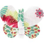 Butterfly hair clip powdered  dahlia - PPMC