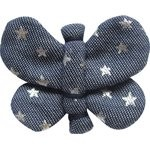 Butterfly hair clip etoile argent jean - PPMC