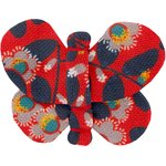 Butterfly hair clip vermilion foliage - PPMC