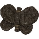 Butterfly hair clip copper linen - PPMC