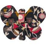 Butterfly hair clip ochre bird - PPMC