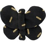 Butterfly hair clip golden straw - PPMC