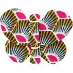 Butterfly hair clip palmette - PPMC