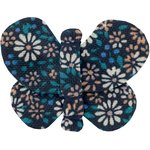 Butterfly hair clip paquerette marine - PPMC