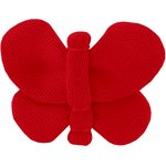 Butterfly hair clip  red - PPMC