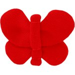 Butterfly hair clip tangerine red - PPMC