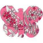 Butterfly hair clip pink violette - PPMC