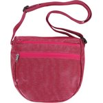 Base of small saddle bag silver fuchsia - PPMC