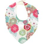 bandana bib powdered  dahlia - PPMC